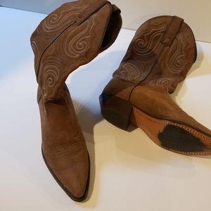 Size 6 Capezio suede cowboy boots